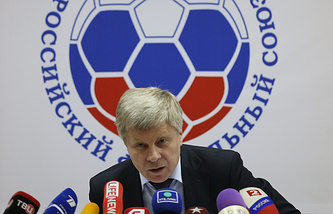 Russian Football Union President Nikolay Tolstykh
