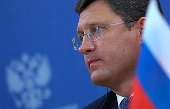 Russian Energy Minister Aleksandr Novak