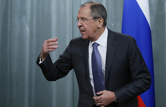 Russiann Foreign Minister Sergey Lavrov
