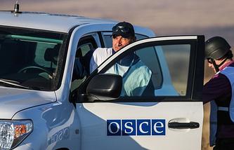 OSCE observers in Ukraine (archive)