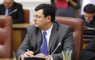 Alexander Kvitashvili, appointed as Ukraine's health minister