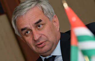Abkhazian President Raul Khadzhimba