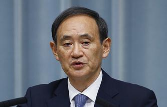 Japan Cabinet Secretary-General Yoshihide Suga