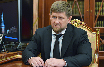 Chechen leader, Ramzan Kadyrov
