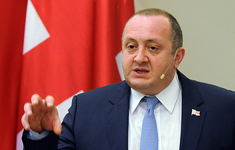 President of Georgia Giorgi Margvelashvili