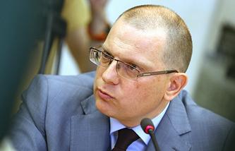 Russia's human rights ombudsman Konstantin Dolgov