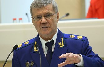 Yury Chaika, Russian Prosecutor General