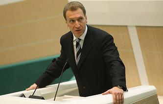 Russian First Deputy Prime Minister Igor Shuvalov