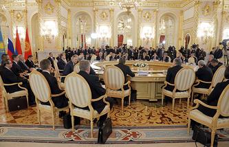 Supreme Eurasian Economic Council meeting
