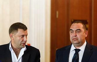Alexander Zakharchenko and Igor Plotnitsky