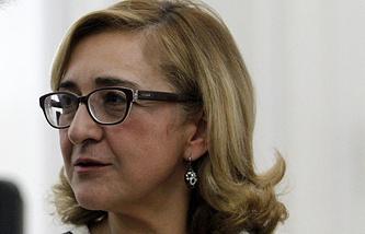Georgia's Foreign Minister Tamar Beruchashvili