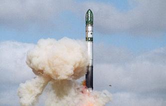 Dnepr carrier rocket