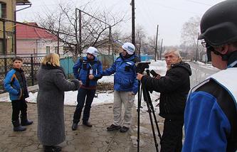 OSCE officials in Ukraine