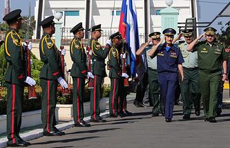 Russian Defence Minister Sergey Shoigu