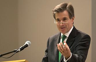 John Sawers, former chief of the British intelligence service MI6