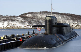 A submarine of the Russian Northern Fleet (archive)