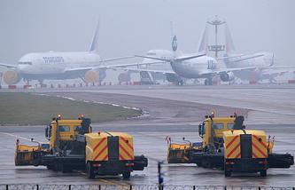 Moscow's Vnukovo airport