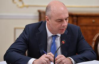 Russia's finance minister Anton Siluanov