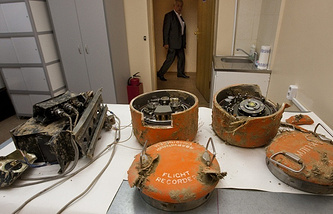 Black boxes from Tupolev-154M