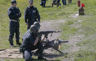 Ukraine's National Guard drills (archive)