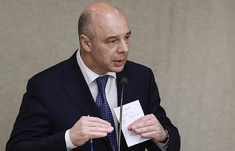 Russian Minister of Finance Anton Siluanov