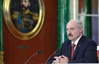 Belarus President Alexander Lukashenko