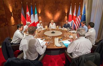 G7 Summit working dinner in Elmau, Germany