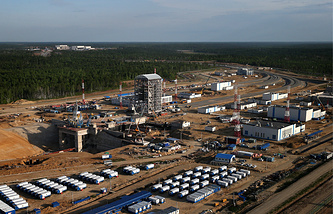 Russia's new Vostochny saceport