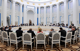 Meeting of the Council for Science, Technology and Education in the Moscow Kremlin