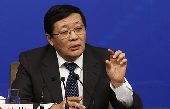 Chinese Finance Minister Lou Jiwei