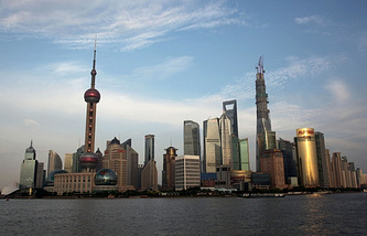 A view of Shanghai