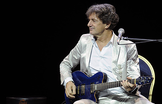 "Serbian singer and composer Goran Bregovic put on Ukraine's list of ""personae non gratae"""