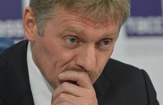Russian presidential spokesman Dmitry Peskov