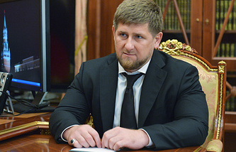 Chechnya's President Ramzan Kadyrov