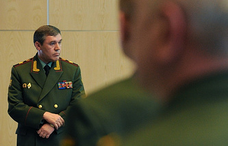 Chief of the Russian General Staff Valery Gerasimov