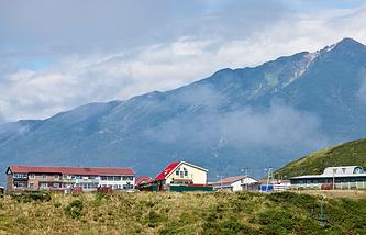 Iturup Island, the Kuril Islands