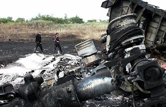 Boeing MH17 debris