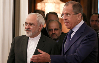Javad Zarif and Sergey Lavrov