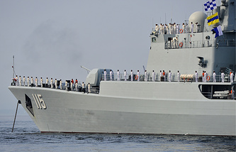 Chinese Hengyang frigate