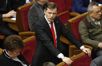 The leader of the Radical Party Oleg Lyashko
