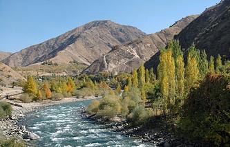 Romit Gorge, Tajikistan
