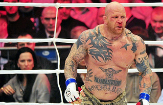 American MMA fighter Jeff Monson