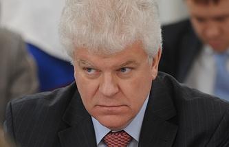 Russia's envoy to the EU Vladimir Chizhov