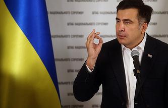 Georgia's ex-president and current Odessa Region Governor Mikheil Saakashvili