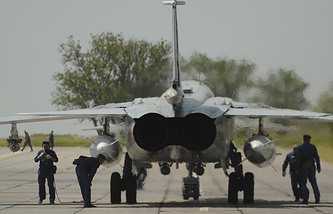 Su-24M fighter jet