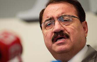 Syrian Ambassador in Moscow Riyad Haddad