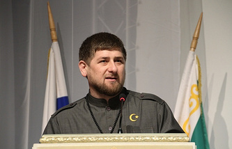 Head of Russia's North Caucasus republic, Ramzan Kadyrov