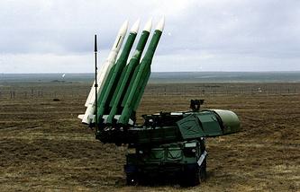 Buk M1 air defense system (archive)