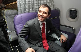 Director General of Russia's air company S7 Vladislav Filev