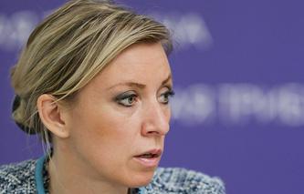Spokesperson for Russia's Foreign Ministry, Maria Zakharova